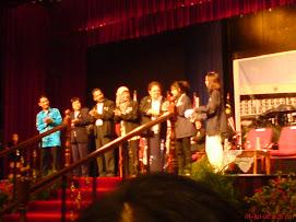 Majlis Perasmian Minggu Haluan Siswa..YDP bersama Barisan pentadbiran UM