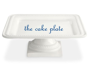 The Cake Plate