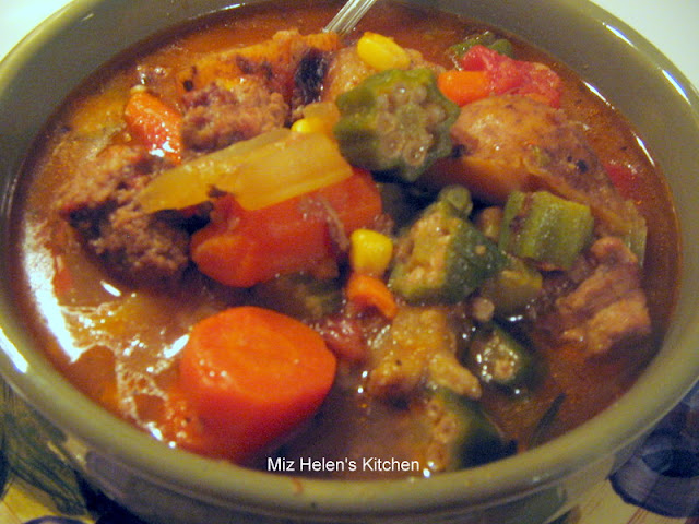 Whats For Dinner Next Week: Vegetable Beef Soup at Miz Helen's Country Cottage