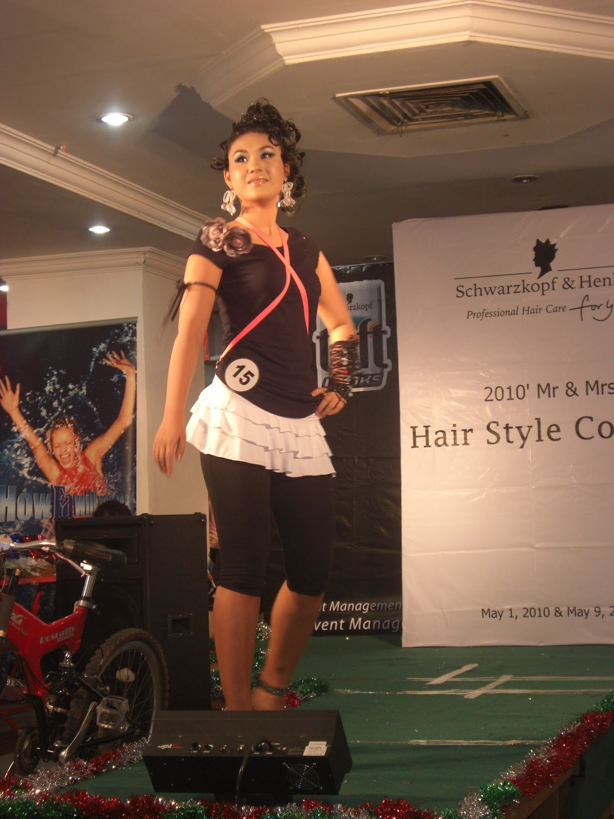 Myanmar Sexy Model Girls At 2010 Mr  Mrs Hair Style Contest-1863