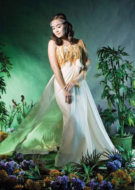 Popular Model, Moe Hay Ko with Beautiful Fashion Dresses