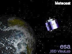 satélite Meteosat.
