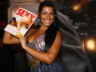 Ellen Cardoso Na Revista Sexy 106