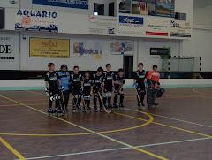 A antiga equipa da época 2007 /2008 em escolares