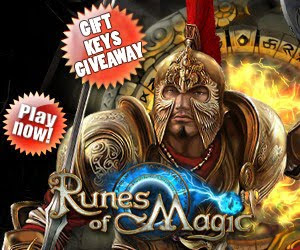 Runes of Magic Gift Key Giveaway (Exclusive pet!)