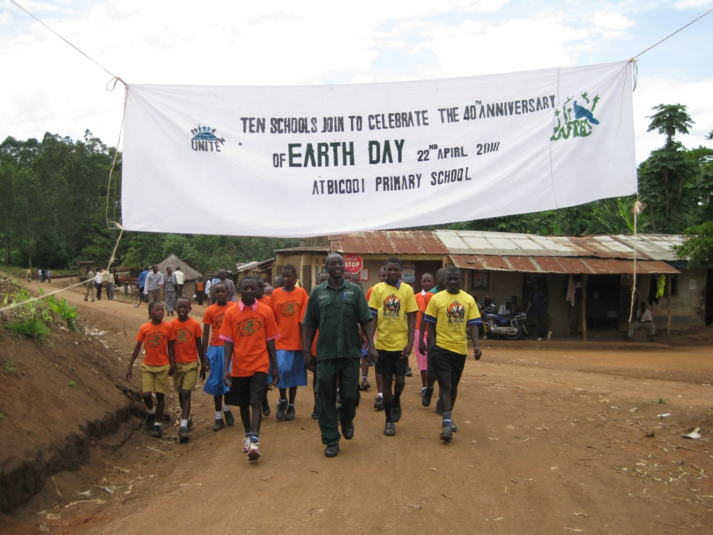 US students fund Earth Day Celebrations for Kasiisi Project schools