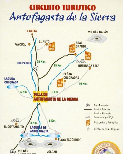 Mapas de viajes de axel y roslie circuito de antofagasta - Vacaciones en la sierra ...