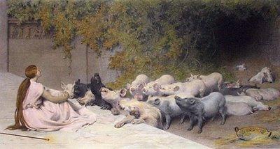Resultado de imagen para ulises y los cerdos