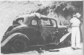 Well One Look At The Barrow Gang Car Burned Wellington That Summer Night In 1933 Says It All Ears From This Fabulous