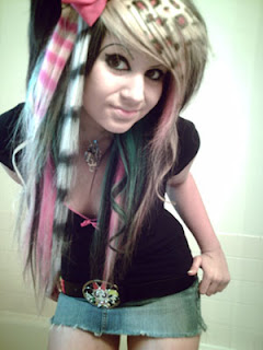 The Online Collection Designer Emo Haircuts 2009