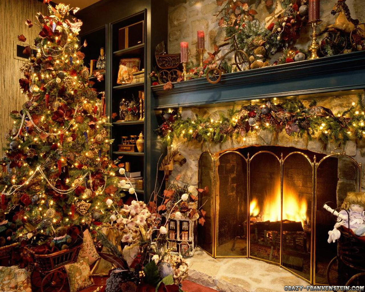 High Definition Photo And Wallpapers: Christmas Tree With