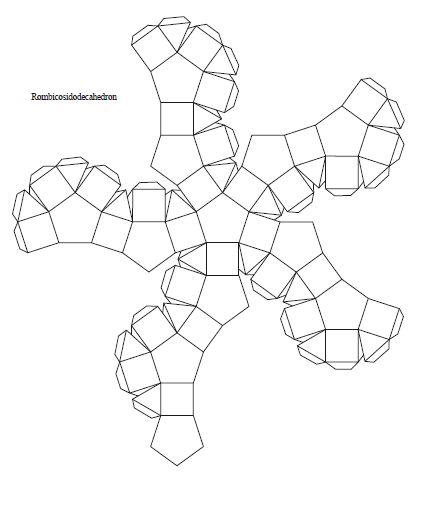 Figura Esfera Geometrica Para Armar