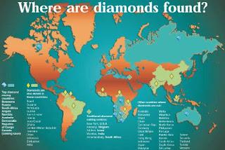 El mapa de los diamantes