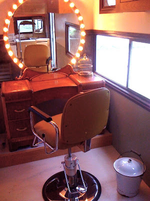 Holiday Hair Studio, Portland's First and Only Street Cart for Hair Design