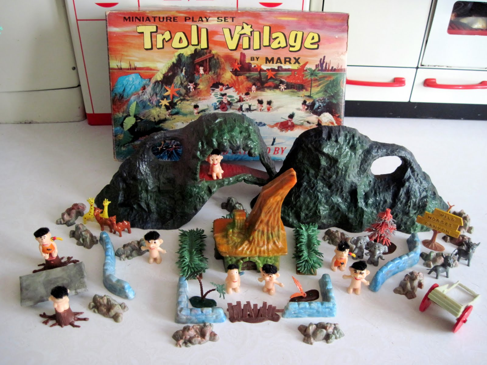 Tracy S Toys And Some Other Stuff Marx Troll Village