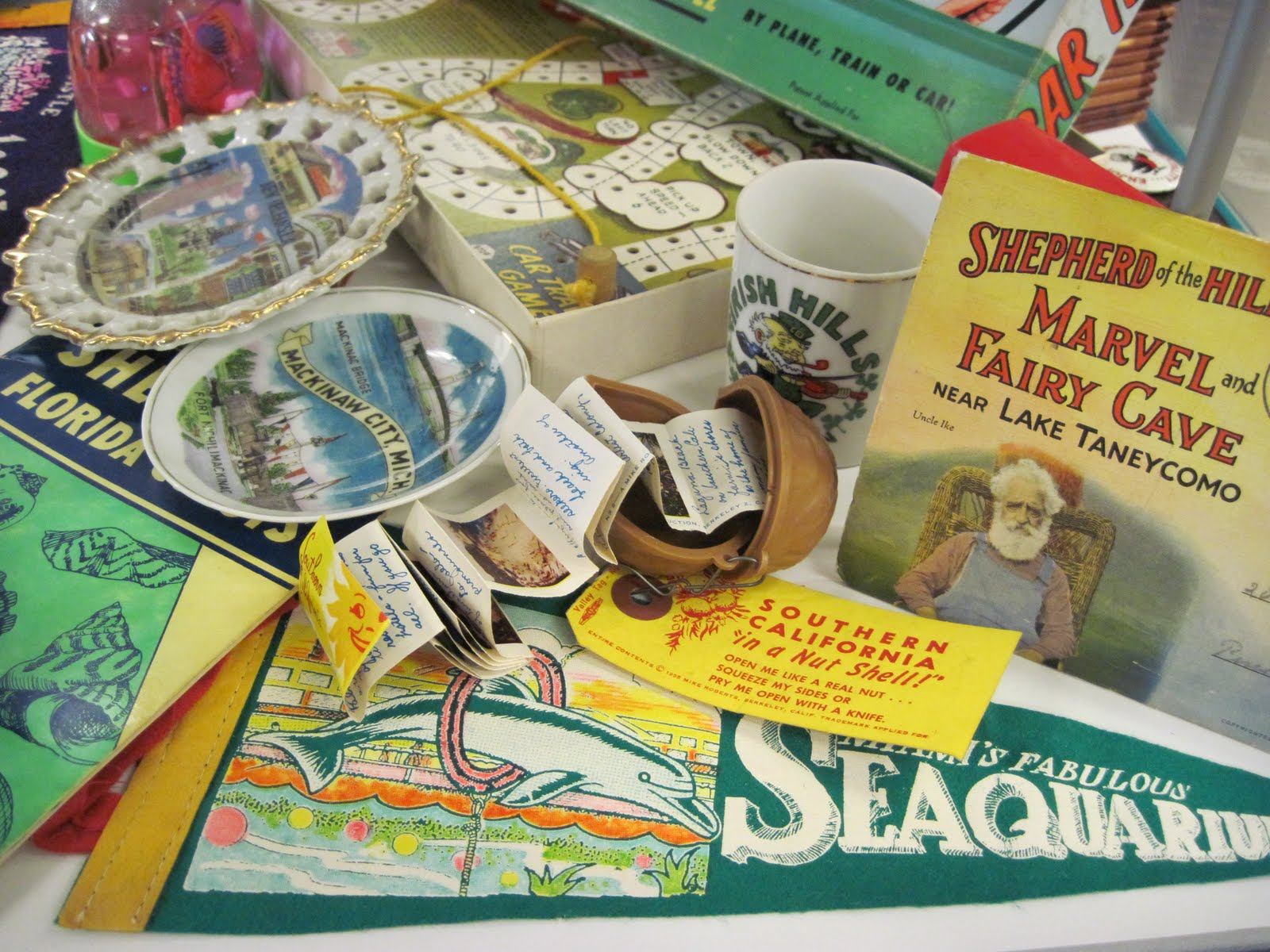 Tracy's Toys (and Some Other Stuff): Vintage Travel