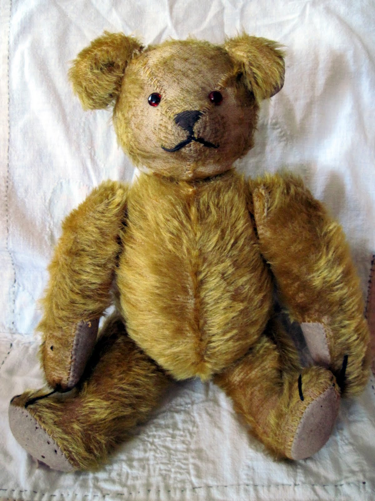 Tracy's Toys (and Some Other Stuff): Odd Antique Teddy Bear