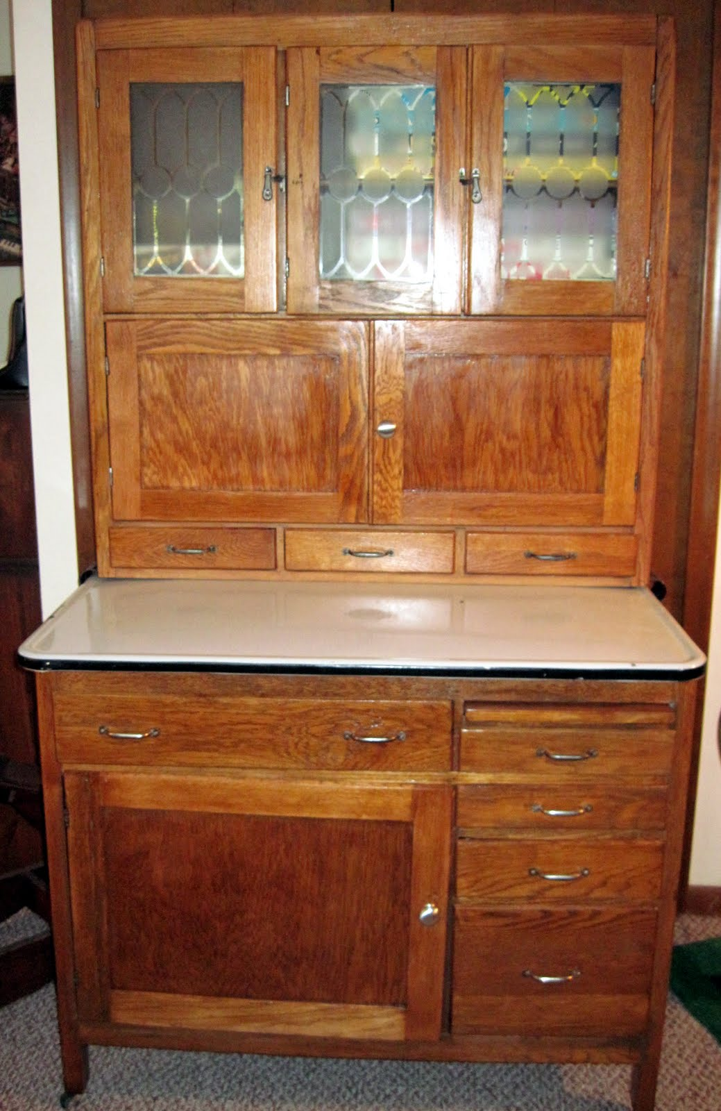 New Doors For Kitchen Cabinets Tracy S Toys And Some Other Stuff 1916 Hoosier Cabinet