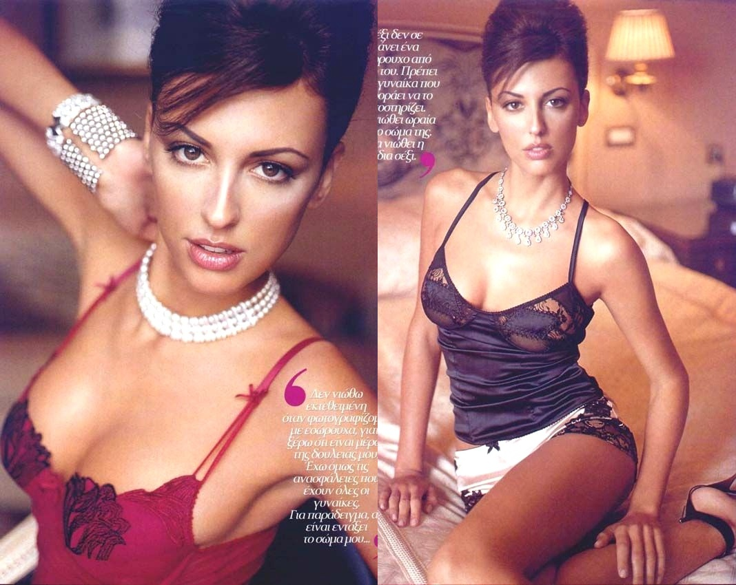 Evelina Papantoniou - Miss Grecia Foto 1