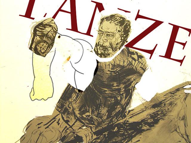 Lanze - Entwurf für heroisches Magazin für Männer mit Schwächen