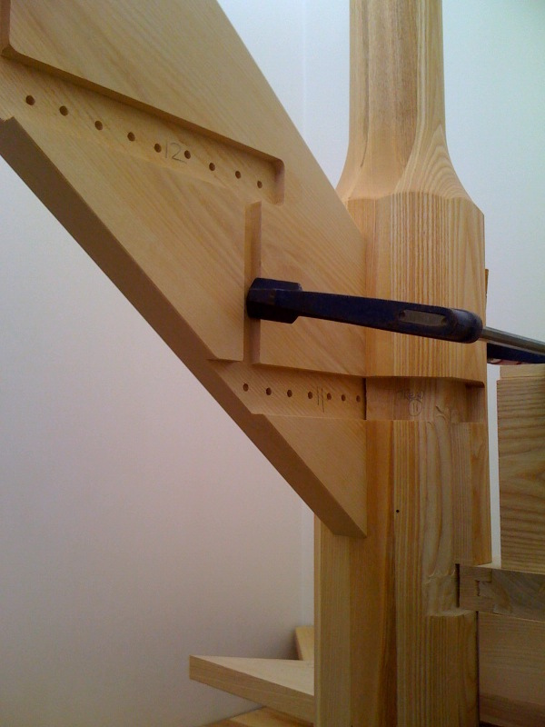The Joy Of Wood Building A Staircase
