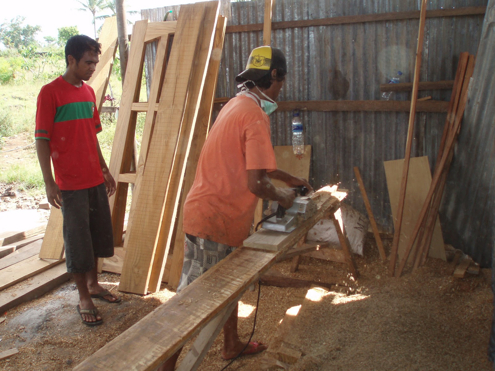 The Joy of Wood: Woodworking, East Timor Style