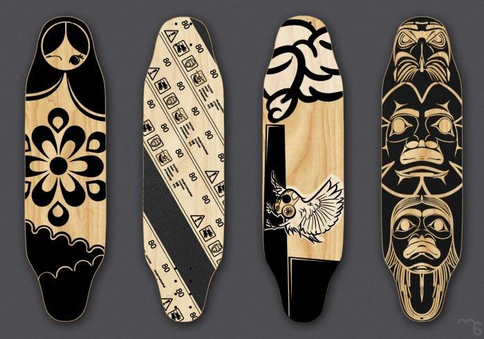 Leadthefree Shortboard Longboards