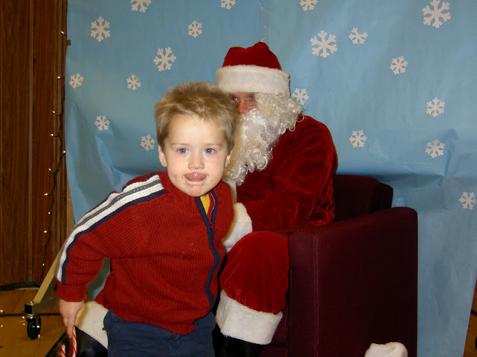 Elijah and Santa