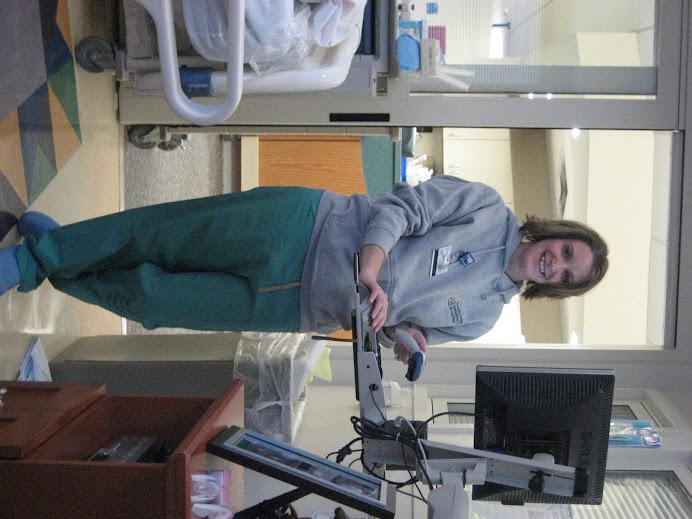 Our nurse Jen