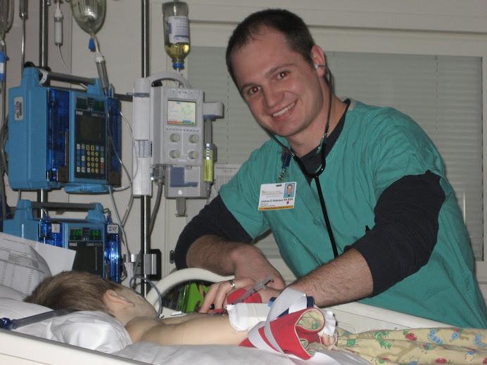 Our nurse Josh