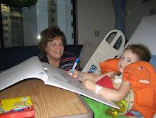 Elijah with Grandma Arlyce