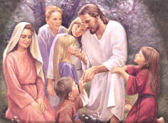 Resultado de imagen para Jesús acoge y defiende la vida de los pequeños