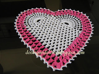 Georgia's Heart Doily