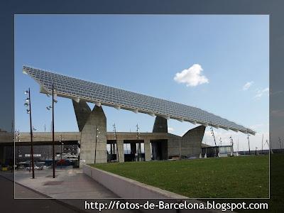 El forum de barcelona iii fotos de barcelona for Placas solares barcelona