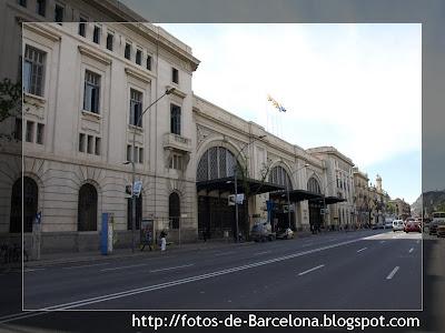 La estaci n de francia fotos de barcelona for Como ir de barcelona a francia