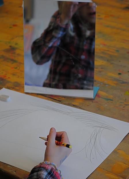 Kinder Portraits. Art Projects Mn Gal