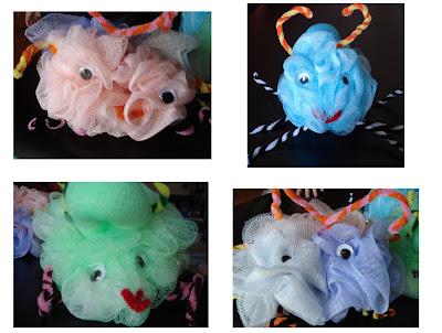 Bath Sponge Creatures