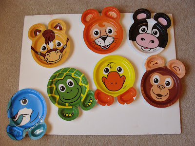Zoo pals plates