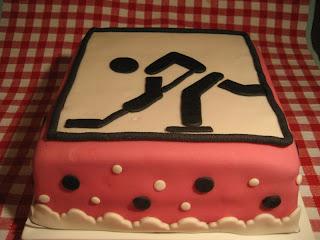 ijshockey taart Taart! van Dionne: IJshockey ijshockey taart