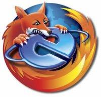 Firefox devora a Explorer