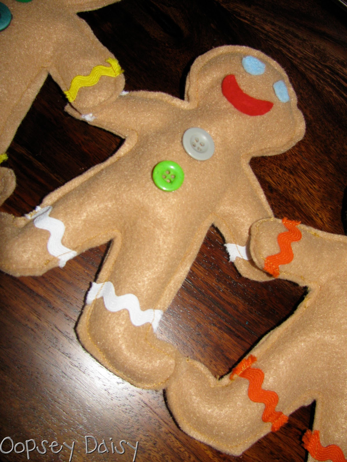 Book Advent Day 16 Gingerbread Man Party