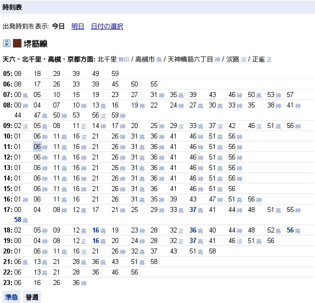 Google Japan Blog: Google マップで全国の地下鉄時刻表が見られるよう ...