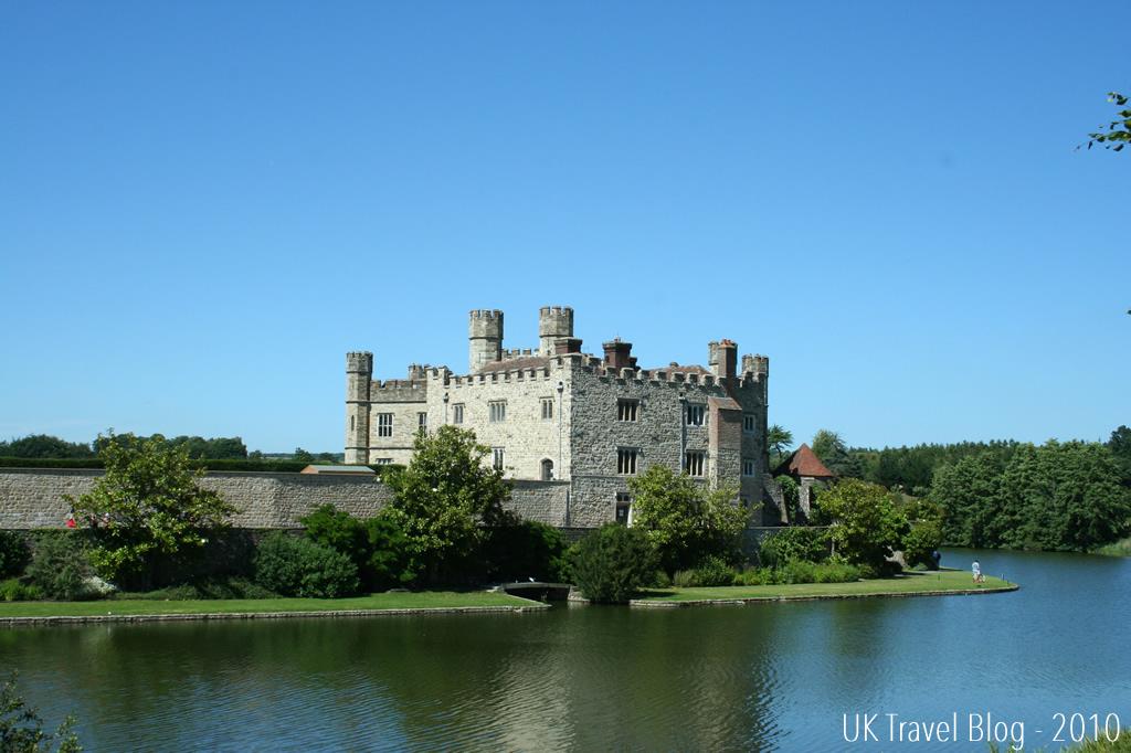 Leeds castle in kent
