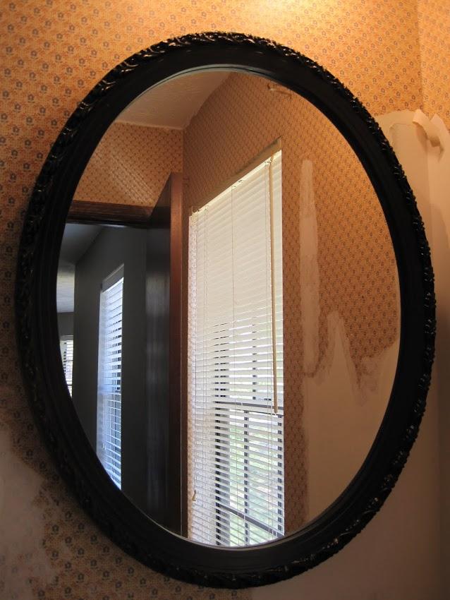 dark bronze mirror