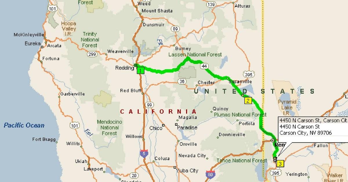 redding carson nevada nv california reno map 2009 doug roving reports