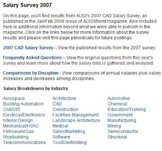 Additional documents, information - 2007 Annual AUGI Salary Survey