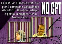 No all'espulsione dei compagni Nazan Ercan e Abdellatif Ibrahim Fatayer