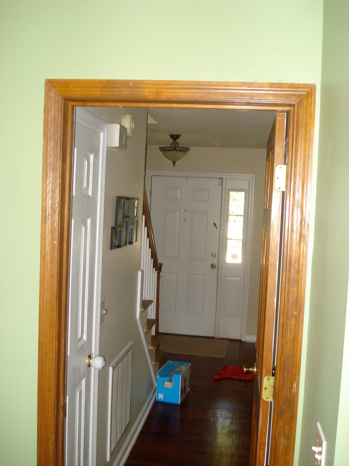 Floor Project: Painting Wood Trim/Doors White