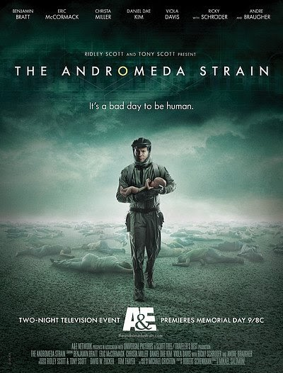 the andromeda strain tv series - 400×526