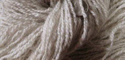 Lovely yarn from Marietta Shetlands roving.